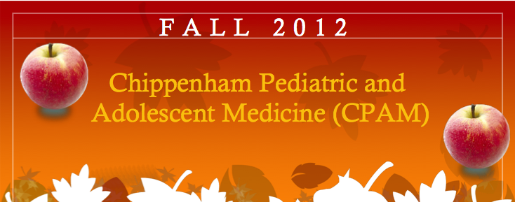 Commonwealth Pediatrics' Fall 2012 Newsletter