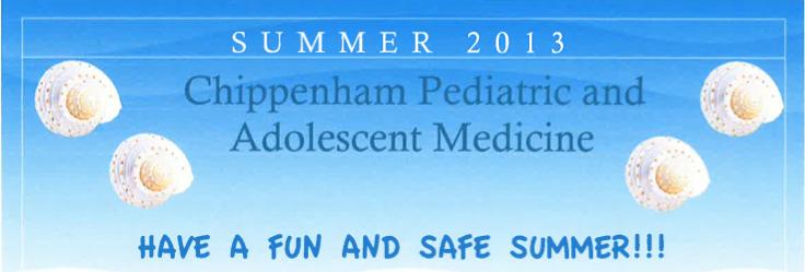 Commonwealth Pediatrics' Summer 2013 Newsletter