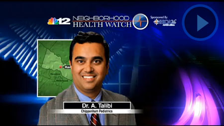 Dr. Talibi on NBC 12 Neighborhood Health Watch Speaking About the Dangers of RSV