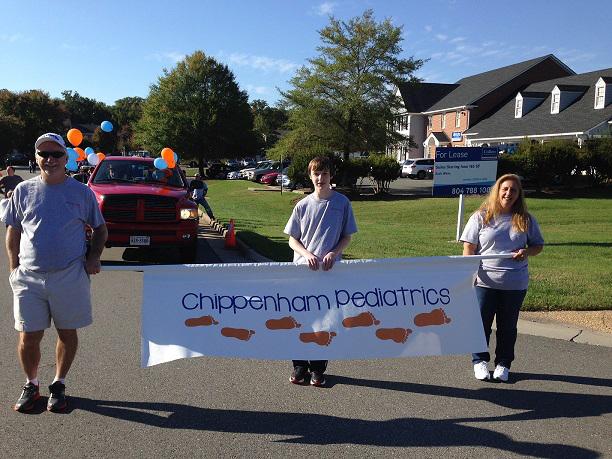 Commonwealth Pediatrics at the Midlothian Days Parade!