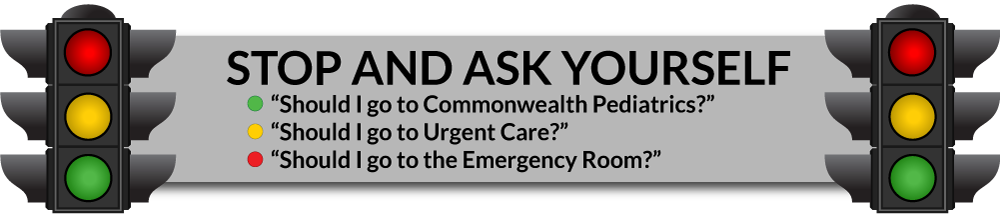 When to go to Commonwealth Peds, Urgent Care or the Emergency Room ...